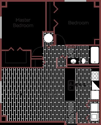 The Vermillion Floor Plan
