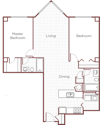 The Rosewood Floor Plan