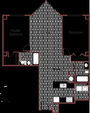 The Rosewood Floor Plan